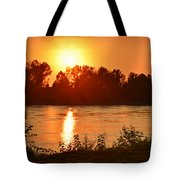 Missouri River In St. Joseph Tote Bag