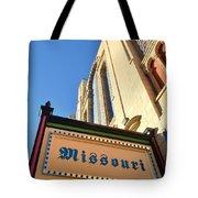 Missouri Theater Tote Bag