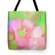 Missouri Wildflowers 5  - Polemonium Reptans -  Digital Paint 7 Tote Bag