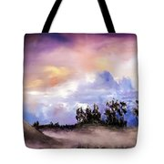 Mist After The Storm Tote Bag