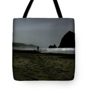 Mist At Cannon Beach Tote Bag