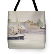 Mist-bound Tote Bag