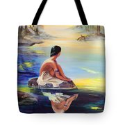 Mist Reflections Tote Bag