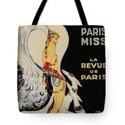 Mistanguette At The Casino De Paris Tote Bag