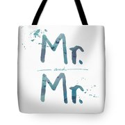 Mister And Mister  Tote Bag