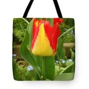 Mister Tulip Waving Salute Tote Bag