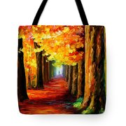 Mistery Alley Tote Bag