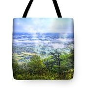 Mists In The Valley Tote Bag