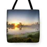 Mists Of The Morning Tote Bag