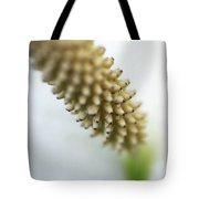 Misty Abstraction Tote Bag