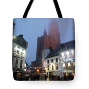 Misty Cathedral Tote Bag