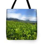 Misty Clouds Tote Bag