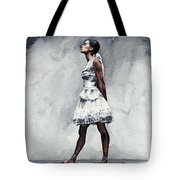 Misty Copeland Ballerina As The Little Dancer Tote Bag