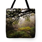 Misty Distance Tote Bag