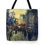 Misty Effect Paris Tote Bag