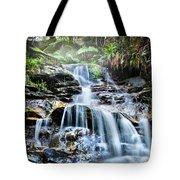 Misty Falls Tote Bag