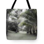 Misty Hawaiian Garden Tote Bag