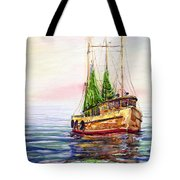 Misty In The Morning Tote Bag