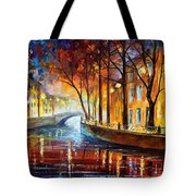 Misty Melody Tote Bag