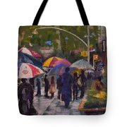 Misty Monday Morning Tote Bag