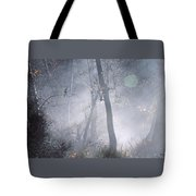 Misty Morning - Ojai California Tote Bag
