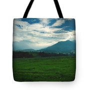 Misty Mountain Hop Tote Bag