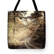 Misty Mountain Road Tote Bag