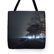 Misty Night Tote Bag