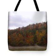 Misty River Tote Bag