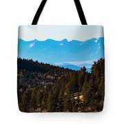 Misty Sangre View Tote Bag