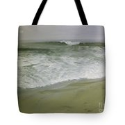 Misty Seas Tote Bag