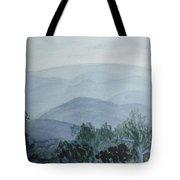 Misty Shenandoah Tote Bag