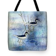 Misty Swamp Tote Bag
