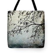 Misty Tide Tote Bag