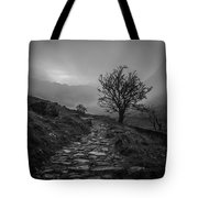 Misty Valley Tote Bag