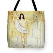 Misty Vi - La Ballet Statuette Tote Bag
