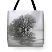 Misty Wetlands Tote Bag