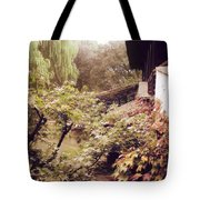 Misty Willows Tote Bag by Ivy Ho