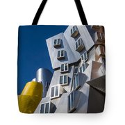 Mit Stata Center Cambridge Ma Kendall Square M.i.t. Tote Bag