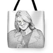 Mitch Hedberg In His Own Jokes Tote Bag