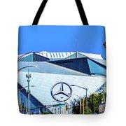Mercedes Benz Stadium Tote Bag