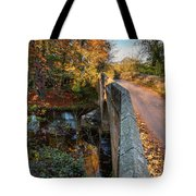 Mitford Bridge Over River Wansbeck Tote Bag