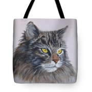 Mitze Maine Coon Cat Tote Bag