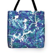 Mix Of Blues Tote Bag