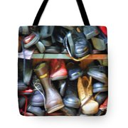 Mix Of Shoes Nyc Tote Bag