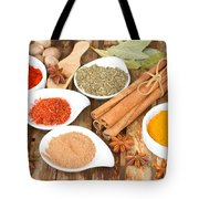 Mix  Of Spices Tote Bag