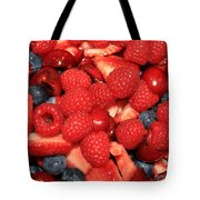 Mixed Berries Tote Bag