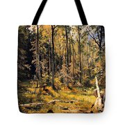 Mixed Forest Tote Bag