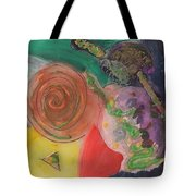 Mixed Media Abstract 15-c11  Tote Bag