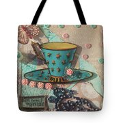 Mixed Media - Coffee Cup  Tote Bag